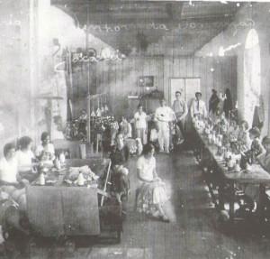 interior da malharia em 1930(B)